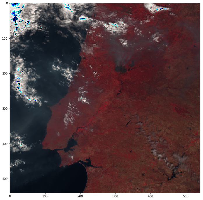 Active fire detection with Sentinel-3 Sea and Land Surface